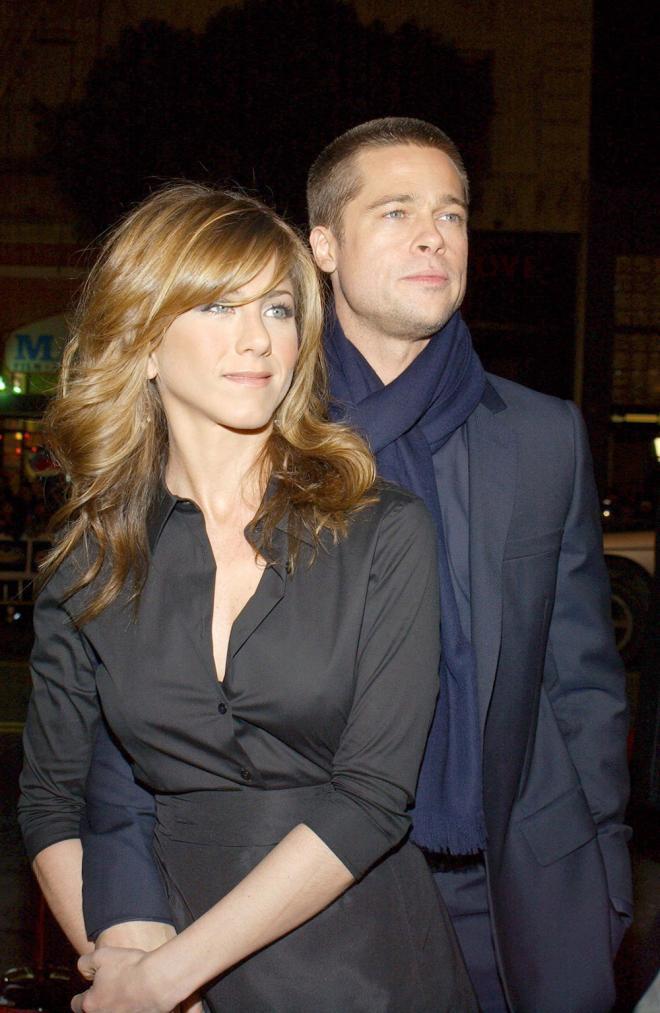 Jennifer Aniston,Brad Pitt và Jennifer Aniston,Brad Pitt,sao Hollywood
