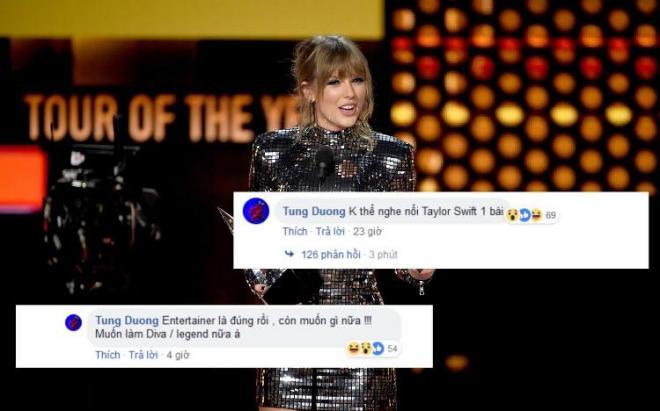 Taylor Swift, Tùng Dương, sao Việt