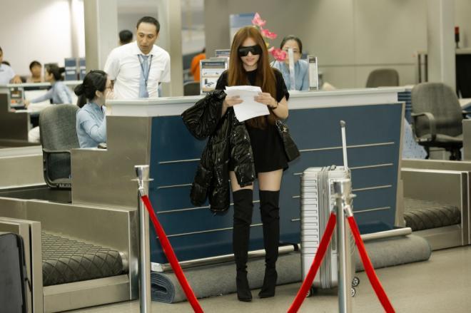 Thu Thủy, sao Việt, thời trang sân bay