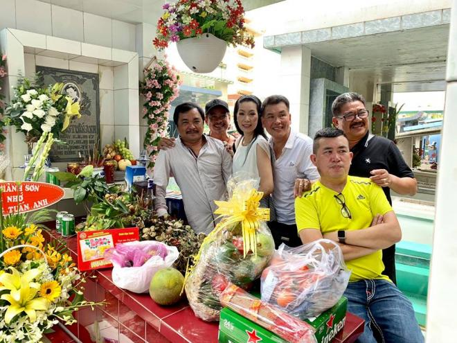Trịnh Kim Chi, Phước Sang, giỗ Lê Công Tuấn Anh, Lê Công Tuấn Anh