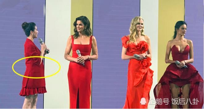 Sau tin đồn mang song thai, Lưu Thi Thi lộ vòng 2 nhô cao bên 3 đại mỹ nhân Hollywood