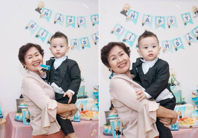 Thảo Trang,con trai Thảo Trang,sinh nhật con trai Thảo Trang