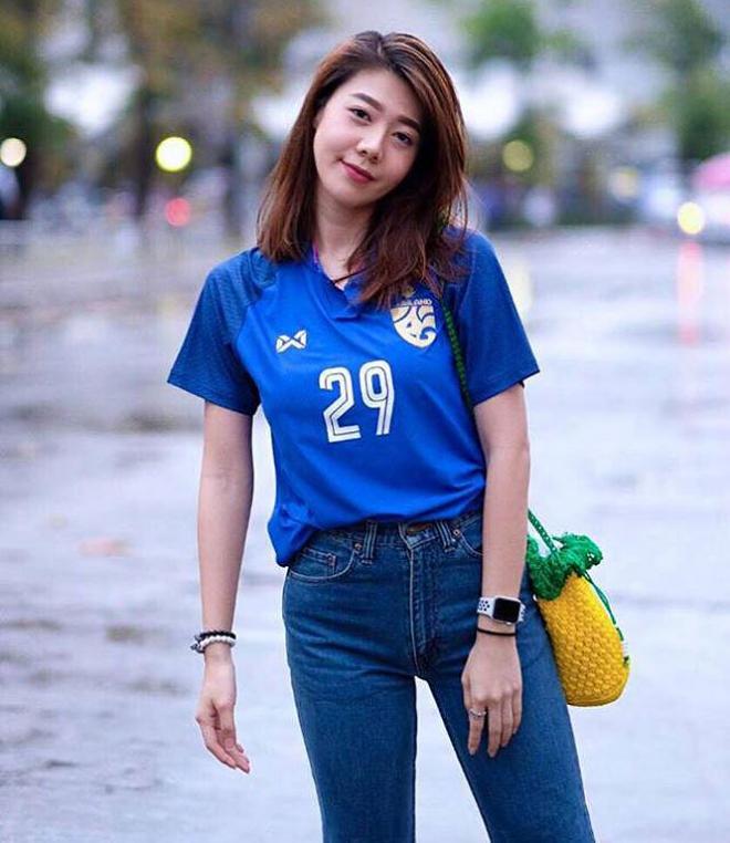 thái lan, bạn gái tuyển thủ Thái Lan, AFF Cup 2018, bạn gái xinh đẹp tuyển Thái Lan