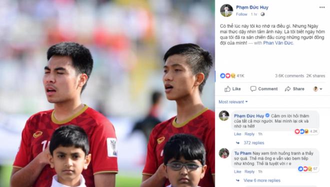 Tiền vệ đức huy,đội tuyển việt nam,asian cup
