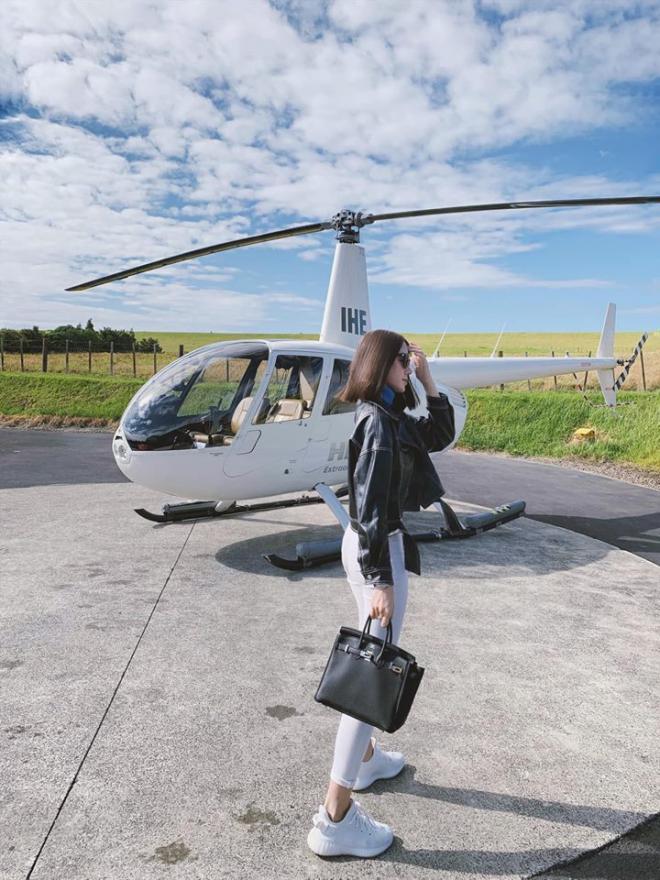 Jolie Nguyễn, du lịch New Zealand