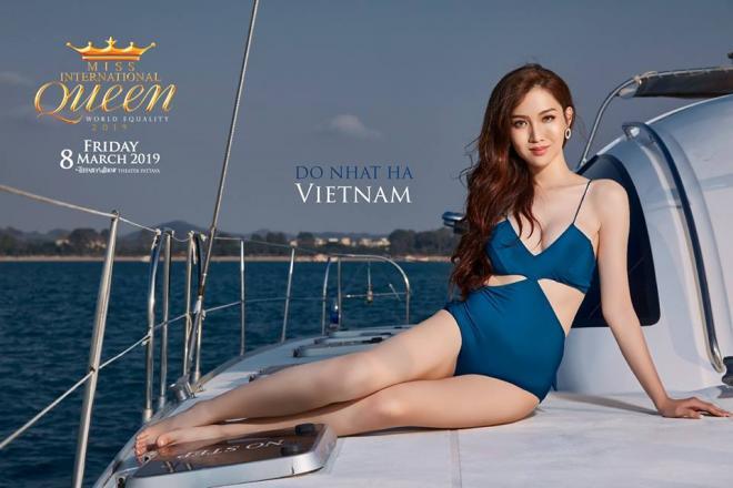 Hoa hậu chuyển giới Quốc tế 2019, Miss International Queen 2019, Đỗ Nhật Hà, sao Việt
