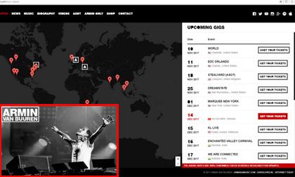 DJ số 3 thế giới Armin van Buuren chính thức điền tên Việt Nam vào lịch lưu diễn
