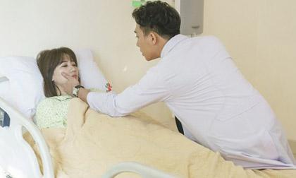 Trấn Thành tái hiện hình ảnh bác sĩ soái ca chăm sóc bà xã Hari Won