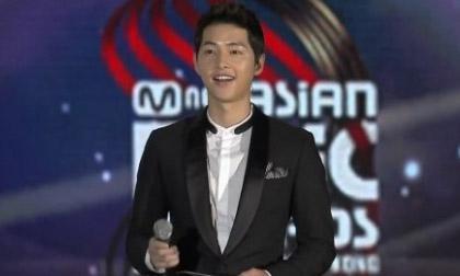 """Song Joong Ki sẽ dẫn chương trình tại """"Lễ trao giải MAMA 2017"""" ở Hồng Kông?"""