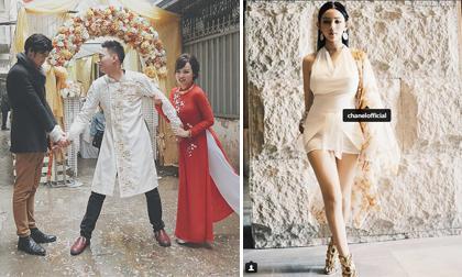 """Hot girl và hot boy 4/1/2018: """"Chàng trai nhạc chế"""" Nhật Anh cưới vợ, Huyền Baby lên tiếng khi bị tố mặc đồ nhái"""