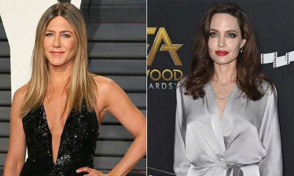 """Hai người vợ cũ của Brad Pitt sẽ đụng mặt nhau tại """"Quả cầu vàng 2018"""""""