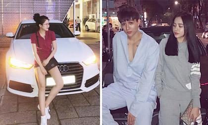 Hot girl và hot boy 5/1/2018: Kiều Trinh tậu xế hộp, Vĩnh Cường khoe bạn gái xinh đẹp