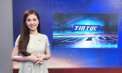 Á hậu Diễm Trang chính thức làm người dẫn chương trình cho VTV9