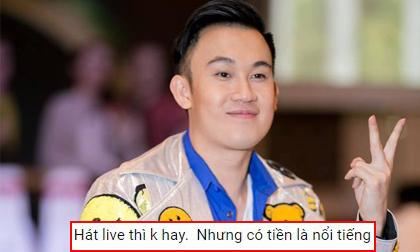 Chẳng ai như Dương Triệu Vũ bị chê hát dở vẫn nhẹ nhàng trả lời comment của anti-fan