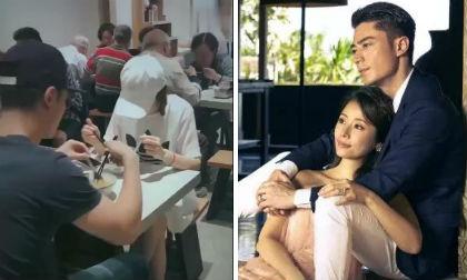 """Sau tin đồn chuẩn bị mang bầu lần 2, Lâm Tâm Như cùng ông xã hẹn hò """"đi ăn mảnh"""""""
