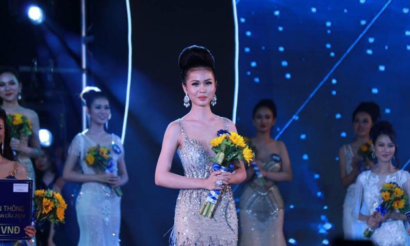 Người đẹp Nguyễn Thị Kim Ngọc đến từ Tiền Giang đăng quang Hoa hậu Biển Việt Nam toàn cầu 2018
