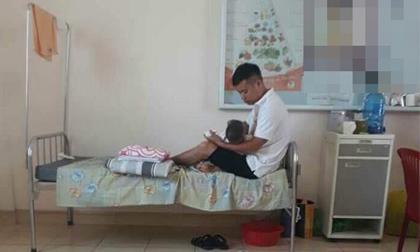 Chồng nhà người ta: Chấp nhận xin nghỉ chăm con ốm ở viện cho vợ đi làm không một lời kêu ca