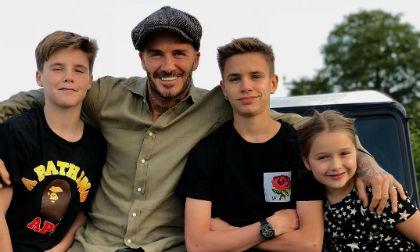 """Tan chảy với những hình ảnh cực ấm áp của gia đình David Beckham trong """"Ngày của cha"""""""