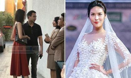 Lan Khuê cùng doanh nhân John Tuấn Nguyễn đi chọn trung tâm tổ chức tiệc cưới để chuẩn bị kết hôn?