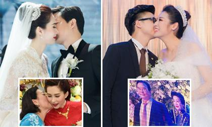 Xúc động lời bố mẹ chồng dặn dò con dâu mới trong ngày về chung nhà của mỹ nhân Việt