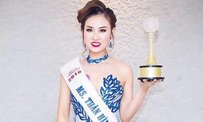 Nguyễn Thị Bích Trân đạt danh hiệu Á khôi Duyên dáng doanh nhân Việt 2018
