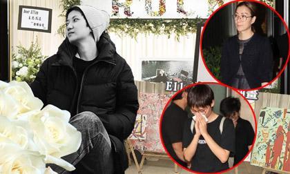Đám tang đẫm nước mắt của nữ ca sĩ đồng tính nhảy từ tầng 20 tự tử