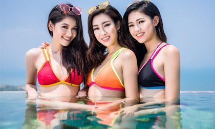 """Á hậu Thùy Dung hài hước chia sẻ về """"Top 3 Hoa hậu Việt Nam lành nhất Trái đất"""""""