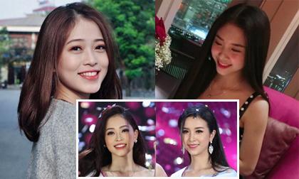 """Nhan sắc đời thường """"vạn người mê"""" của Á hậu 1, Á hậu 2 Hoa Hậu Việt Nam 2018"""