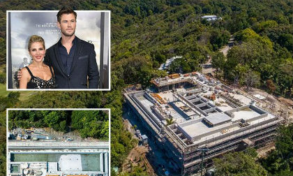 """Mức độ hoành tráng siêu biệt thự được ví như sân bay của """"Thần Sấm"""" Chris Hemsworth"""