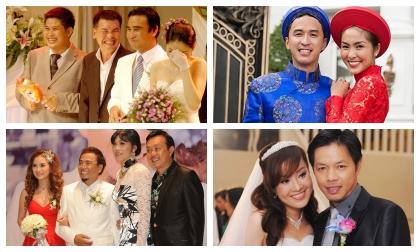 """Bi hài chuyện hi hữu chỉ có trong đám cưới của sao Việt, đúng câu """"đời là sân khấu"""""""