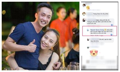 Không biết vô tình hay hữu ý, Cường Đô la bất ngờ tiết lộ thời gian cưới Đàm Thu Trang