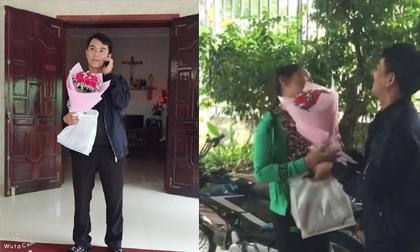 Vợ sung sướng đuổi chồng quanh nhà để… hôn cảm ơn vì được tặng quà 20/10 như ý