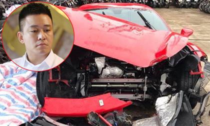 Tuấn Hưng lần đầu tiết lộ thiệt hại của siêu xe 16 tỷ sau khi gặp nạn