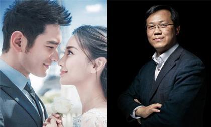 Vừa tình tứ trên Weibo là thế, Trác Vỹ đã tung tin Huỳnh Hiểu Minh và Angelababy chính thức ly hôn