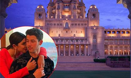 Bên trong cung điện Ấn Độ tráng lệ nơi Nick Jonas và Hoa hậu thế giới tổ chức đám cưới
