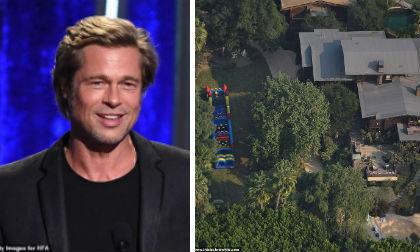 Brad Pitt biến sân vườn của biệt thự hàng chục tỷ thành công viên mạo hiểm để lấy lòng các con