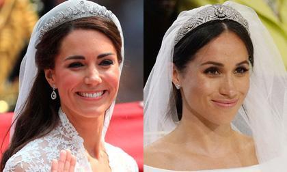 2 lần Kate và Meghan làm trái lệnh Hoàng gia trong đám cưới: Người được khen khôn khéo, kẻ bị tố được voi đòn tiên