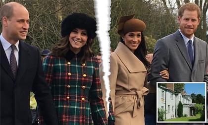 Thực hư mối quan hệ William – Harry rạn nứt vì sự kèn cựa không kiêng nể của 2 bà vợ
