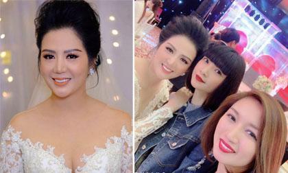 Sao Việt tham dự đám cưới của ca sĩ Đinh Hiền Anh tại Hà Nội