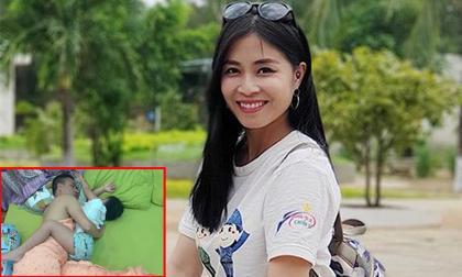 """MC Hoàng Linh đăng status """"rất lẻ loi"""", kèm theo ảnh """"nhạy cảm"""" của chồng sắp cưới khiến dân tình ngã ngửa"""