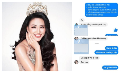 """Lộ tin nhắn Phương Khánh được """"lót đường"""" để đăng quang và mối quan hệ mập mờ với bác sĩ Chiêm Quốc Thái?"""