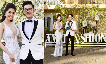 Khoe ảnh dẫn đôi trong show thời trang mà Phan Trung Hậu là Lan Nhi khiến fan ngỡ là ảnh cưới