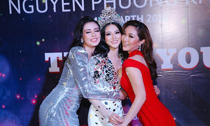Phương Khánh diện trang sức cả tỉ, lộng lẫy lấn át cả hai cựu Hoa hậu Trái đất Karen Ibasco và Michelle Gomez