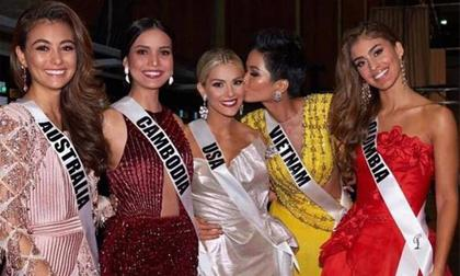 """Hoa hậu Mỹ chính thức nói lời xin lỗi sau khi chê H""""Hen Niê kém tiếng Anh"""