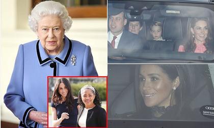 Mẹ vừa từ chối dự Giáng sinh cùng Nữ hoàng, Meghan Markle lộ ảnh vui vẻ dự Giáng sinh cùng chị dâu Kate Middleton