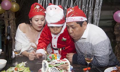 Vác bụng bầu 7 tháng, Thanh Thúy vẫn tự tay chuẩn bị tiệc sinh nhật cho chồng