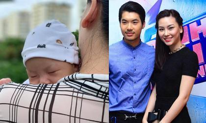 Người đẹp từng hủy hôn với Trương Nam Thành lần đầu khoe ảnh con