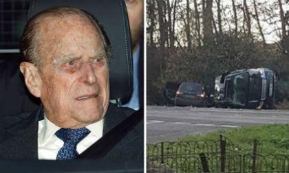 Sau khi bị đồn sắp chết, chồng Nữ Hoàng Anh gặp tai nạn xe hơi gần dinh thự Sandringham
