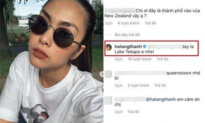 """Sau khi bị dân mạng chỉ trích vì phớt lờ, Tăng Thanh Hà đã âm thầm """"sửa sai"""""""