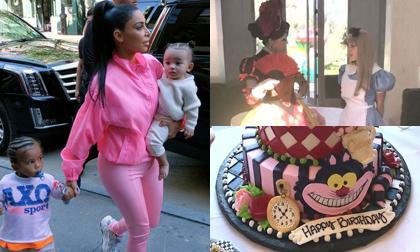 """Tiệc sinh nhật 1 tuổi xa hoa, đúng chuẩn """"rich kid"""" của con gái út nhà Kim Kadarshian – Kanye West"""